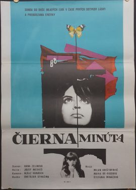 Black Minute cool Czech poster MOVIE★INK. AMSTERDAM
