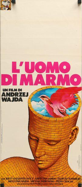Andrzej Wajda Man Of Marble poster MOVIE★INK. AMSTERDAM