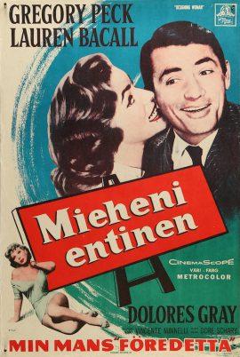 Lauren Bacall Designing Woman Finnish poster MOVIE★INK. AMSTERDAM