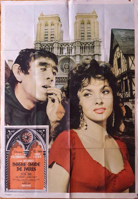 Gina Lollobrigida Hunchback Of The Notre Dame Italian poster MOVIE★INK. AMSTERDAM