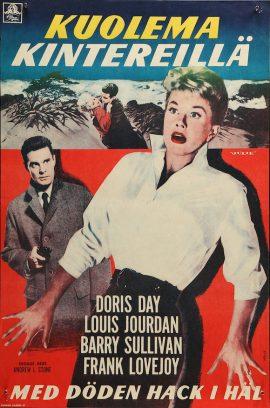 Doris Day Julie Finnish poster MOVIE★INK. AMSTERDAM