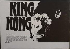King Kong Czech flyer poster MOVIE★INK. AMSTERDAM