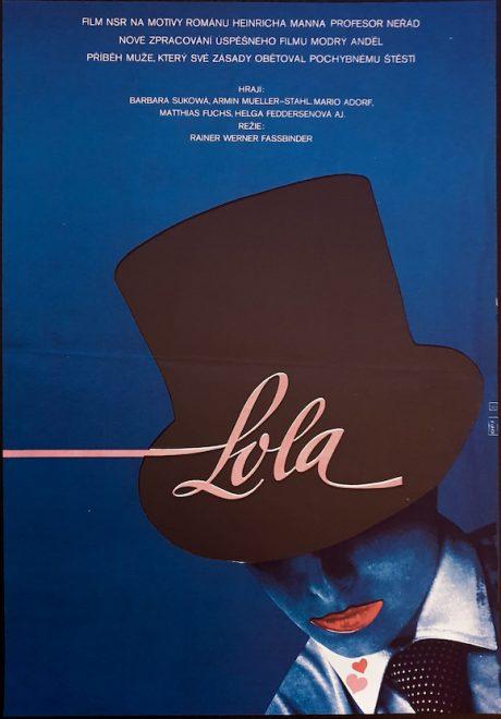 Lola Fassbinder Czech poster MOVIE INK. AMSTERDAM