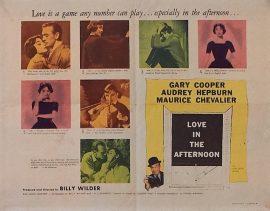 Audrey Hepburn Love In The Afternoon HS MOVIE★INK. AMSTERDAM