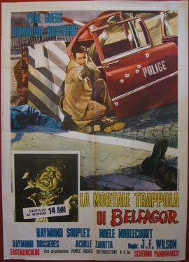 Curse Of Belphegor Italian poster MOVIE★INK. AMSTERDAM
