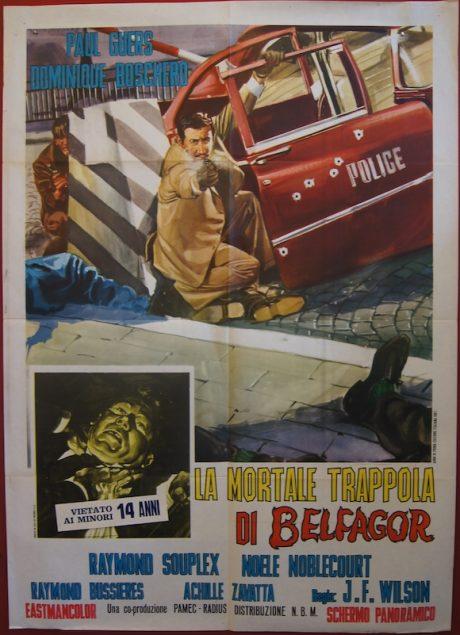 Curse Of Belphegor Italian poster MOVIE★INK. AMSTERDAM