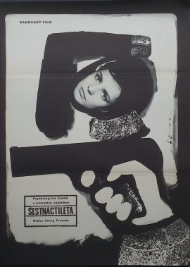 Bad girl UNDER 18 Czech poster MOVIE INK. AMSTERDAM