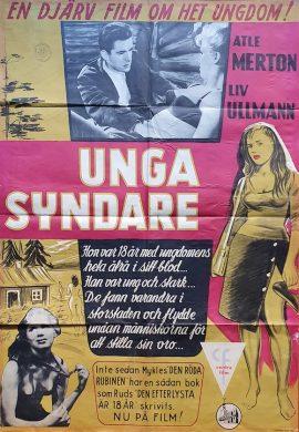 Wayward Girl Danish poster MOVIE INK. AMSTERDAM