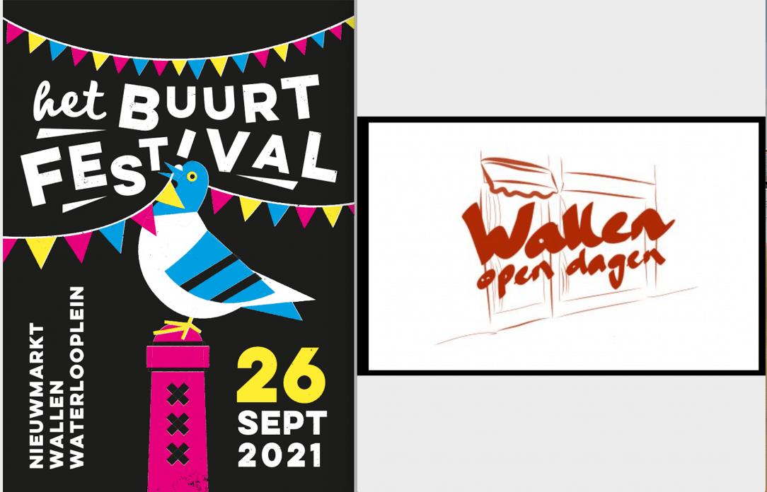 Wallen Open Dagen Buurtfestival MOVIE INK. AMSTERDAM
